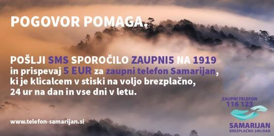 Samarijan - SMS donacija